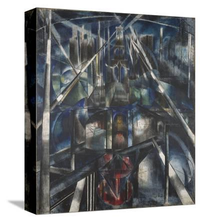 Brooklyn Bridge, 1919-20-Joseph Stella-Stretched Canvas Print