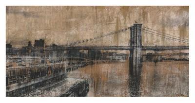Brooklyn Bridge 1-Dario Moschetta-Art Print