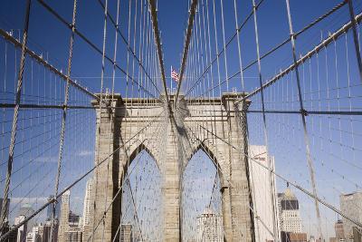 Brooklyn Bridge #2, New York City, New York 08-Monte Nagler-Photographic Print