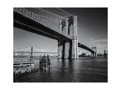Brooklyn Bridge Afternoon 2-Henri Silberman-Photographic Print
