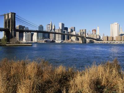 Brooklyn Bridge and Manhattan, New York City, USA-Doug Pearson-Photographic Print