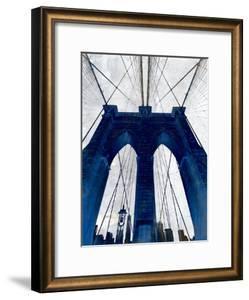 Brooklyn Bridge Blue