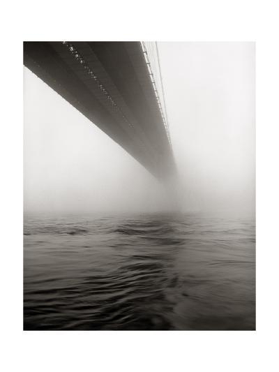 Brooklyn Bridge Fog-Henri Silberman-Photographic Print