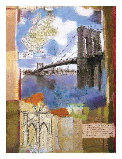 Brooklyn Bridge II-Andrew Sullivan-Art Print