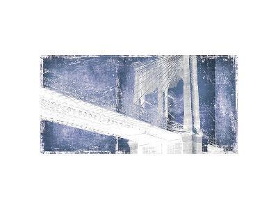 Brooklyn Bridge ll-Parker Greenfield-Art Print