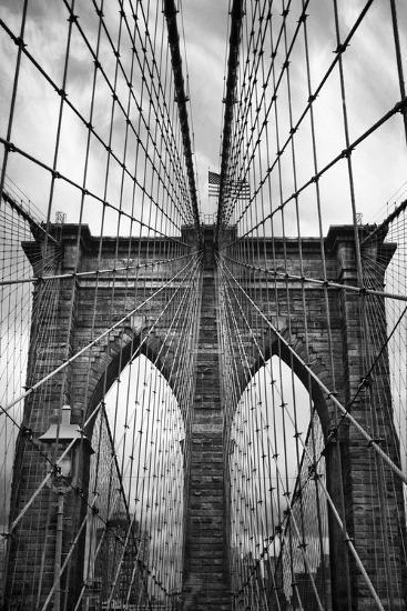 Brooklyn Bridge Mood-Jessica Jenney-Photographic Print