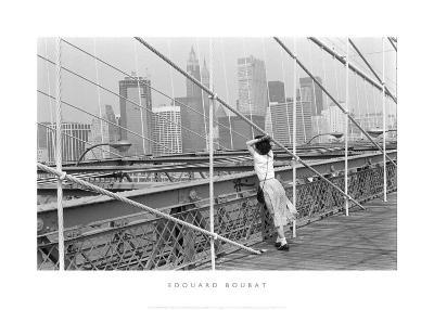Brooklyn Bridge, New York, 1982-Édouard Boubat-Art Print