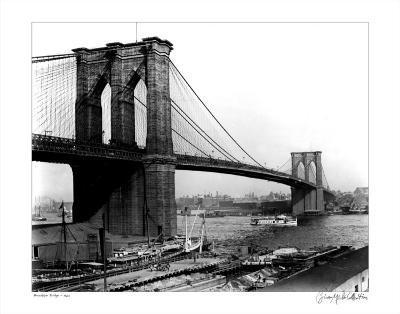Brooklyn Bridge, New York, c.1905--Art Print