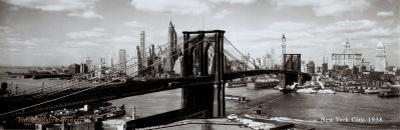 Brooklyn Bridge, New York City, 1938