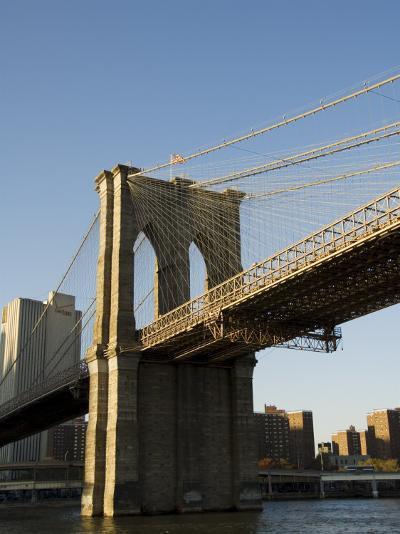 Brooklyn Bridge, New York City, New York, USA-R H Productions-Photographic Print