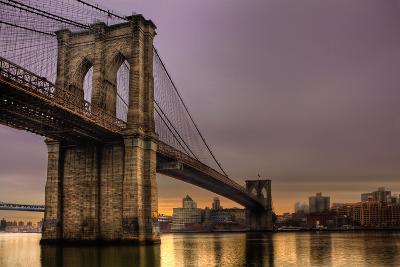 Brooklyn Bridge - New York City, Ny, USA-EvanTravels-Photographic Print