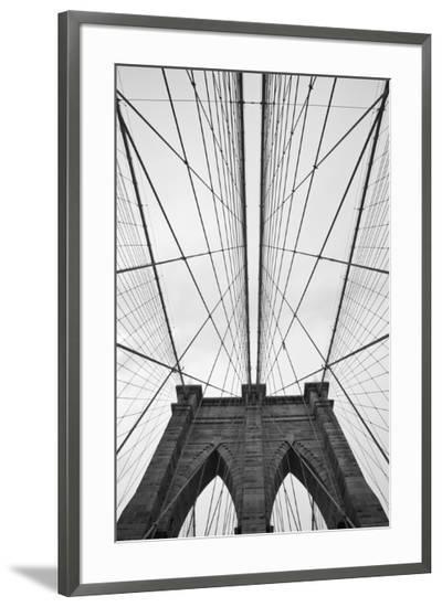 Brooklyn Bridge, New York City-Paul Souders-Framed Photographic Print
