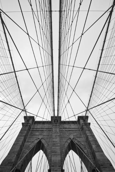 Brooklyn Bridge, New York City-Paul Souders-Premium Photographic Print