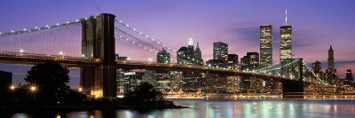 Brooklyn Bridge New York Ny, USA--Photographic Print