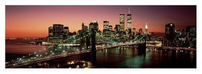 Brooklyn Bridge, NYC-Richard Berenholtz-Art Print