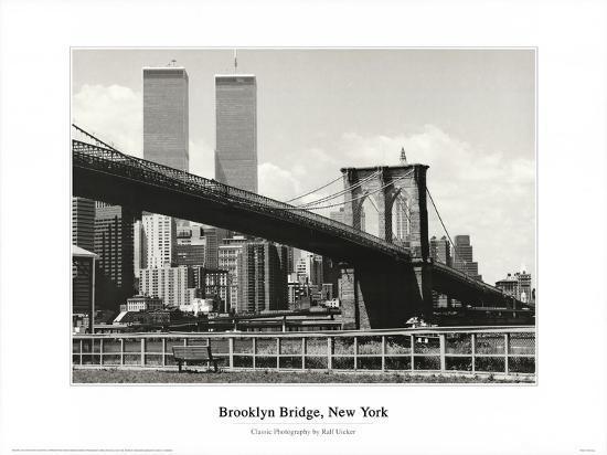 Brooklyn Bridge-Ralph Uicker-Art Print