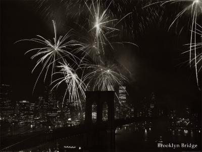 Brooklyn Bridge--Art Print