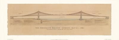Brooklyn Bridge-Craig Holmes-Art Print