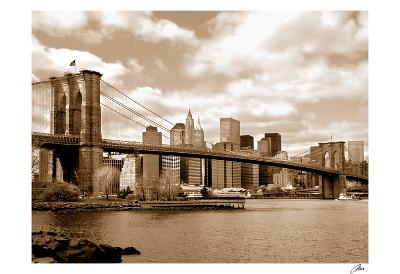Brooklyn Bridge-Igor Maloratsky-Art Print