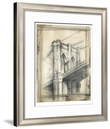 Brooklyn Bridge-Ethan Harper-Framed Premium Giclee Print
