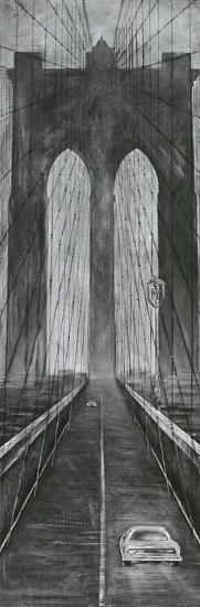 Brooklyn Bridge-L^ Cartier-Art Print