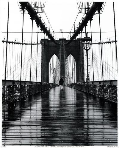 Brooklyn Bridge-Christopher Bliss-Art Print
