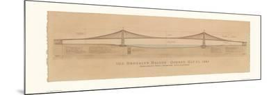 Brooklyn Bridge-Craig Holmes-Mounted Print