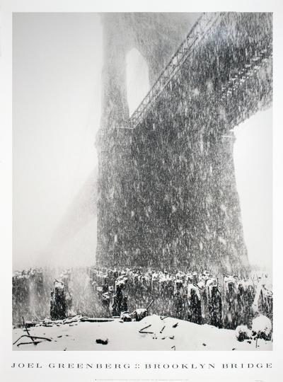 Brooklyn Bridge-Joel Greenberg-Collectable Print
