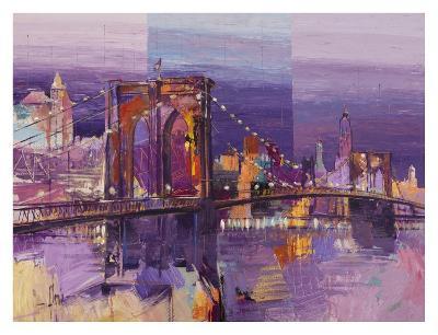 Brooklyn Bridge-Luigi Florio-Art Print