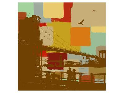 Brooklyn Bridge-Yashna-Art Print