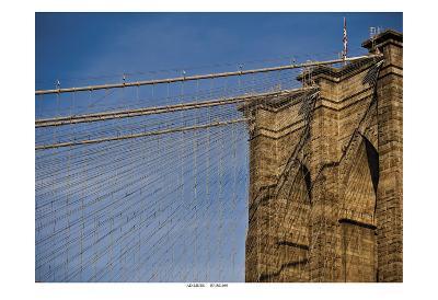 Brooklyn Bridge-Joseph Rowland-Art Print