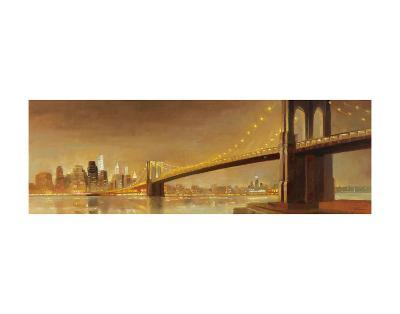 Brooklyn Bridge-Paulo Romero-Art Print