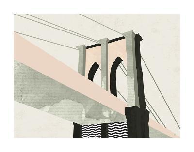 Brooklyn Bridge-Michelle Collins-Art Print