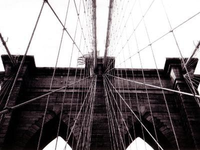 Brooklyn Bridge--Photographic Print