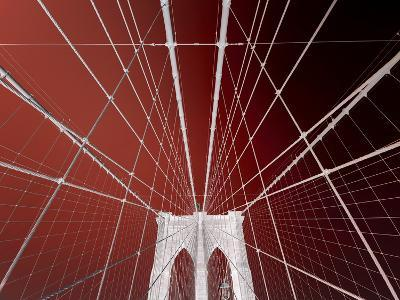 Brooklyn Bridge-Philippe Sainte-Laudy-Photographic Print