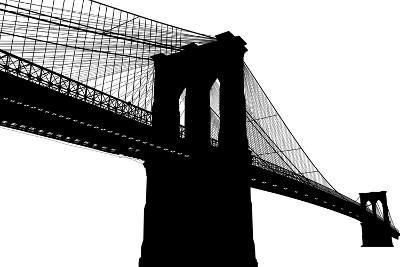 Brooklyn Bridge- vladmark-Art Print
