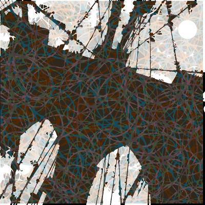 Brooklyn Bridge-Teofilo Olivieri-Giclee Print