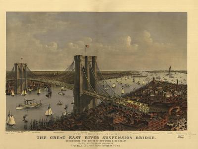 Brooklyn Bridge--Giclee Print