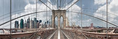 Brooklyn Bridge-Shelley Lake-Photographic Print