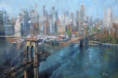 Brooklyn Bridge-Mark Lague-Art Print