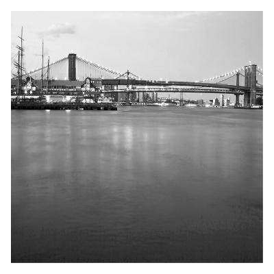 Brooklyn bw-Tracey Telik-Art Print