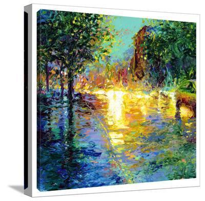 Brooklyn Dawn-Iris Scott-Gallery Wrapped Canvas