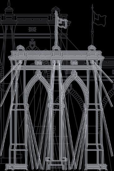 Brooklyn Night-Cristian Mielu-Art Print