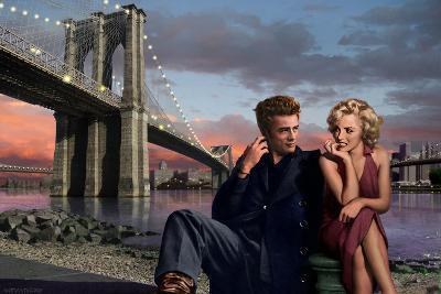 Brooklyn Nights-Chris Consani-Art Print