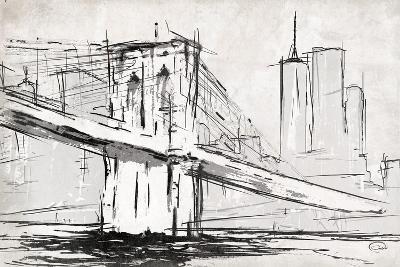 Brooklyn Sketch-OnRei-Art Print