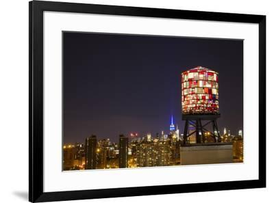 Brooklyn Skyline-Jason Matias-Framed Giclee Print