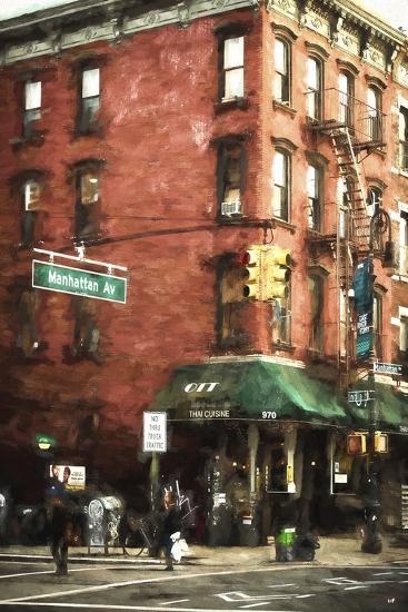 Brooklyn Sreet Scene-Philippe Hugonnard-Giclee Print