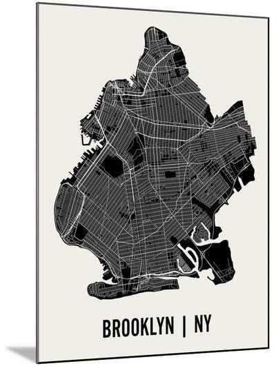 Brooklyn-Mr City Printing-Mounted Print