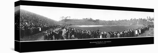 Brookside Stadium, 1910--Stretched Canvas Print