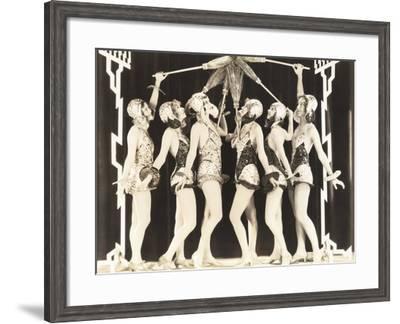 Broom Dance--Framed Photo